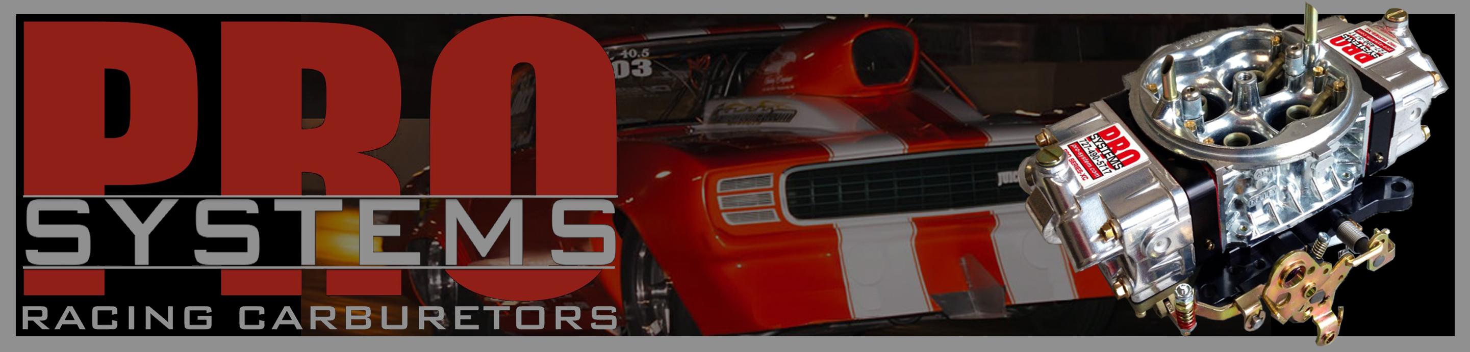 Pro Systems Racing Carburetors Logo