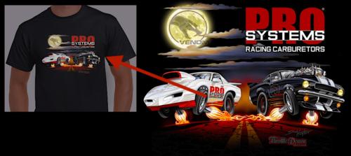 Pro Systems Carburetors Demon T Shirt 2020